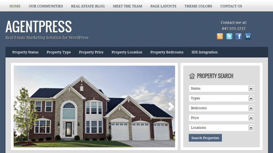 StudioPress Real Estate Theme AgentPress