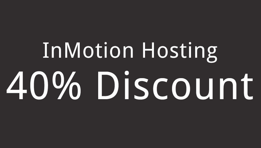 InMotion Hosting 40% Off Discount Coupon