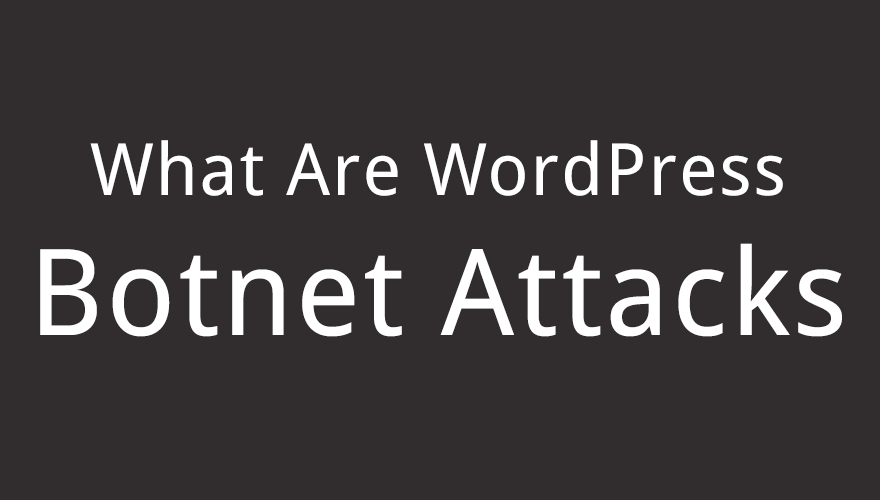 What Are WordPress Botnet Attacks?