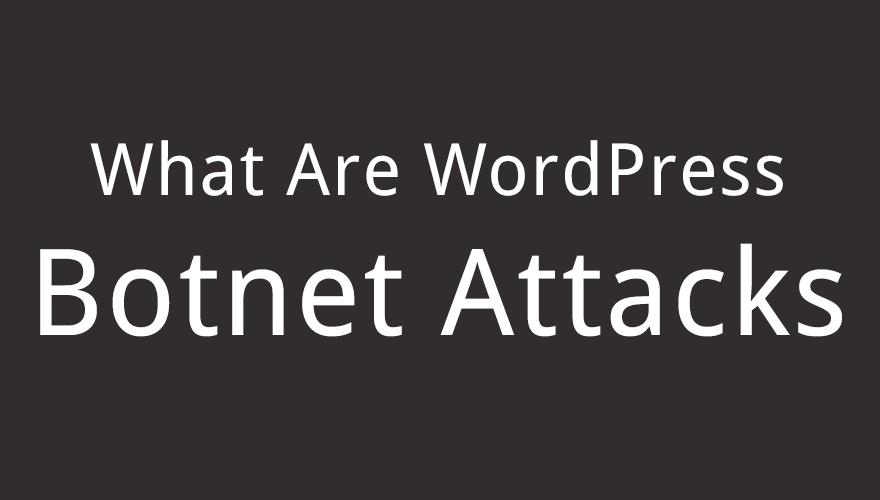 What Are WordPress Botnet Attacks?