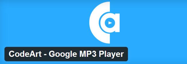 CodeArt Google MP3 Player